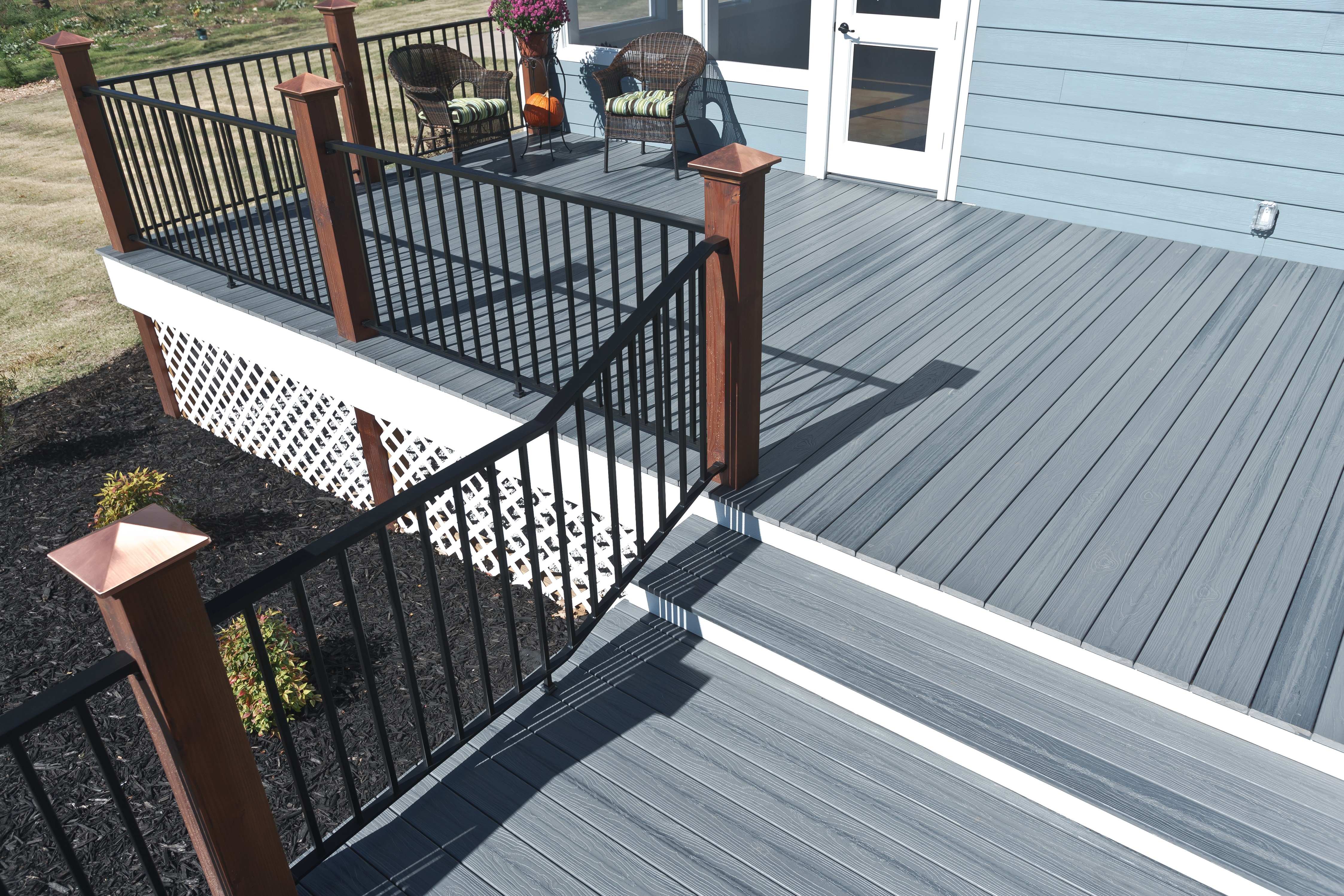 Tamko decking east side lumberyard supply co inc for Composite decks