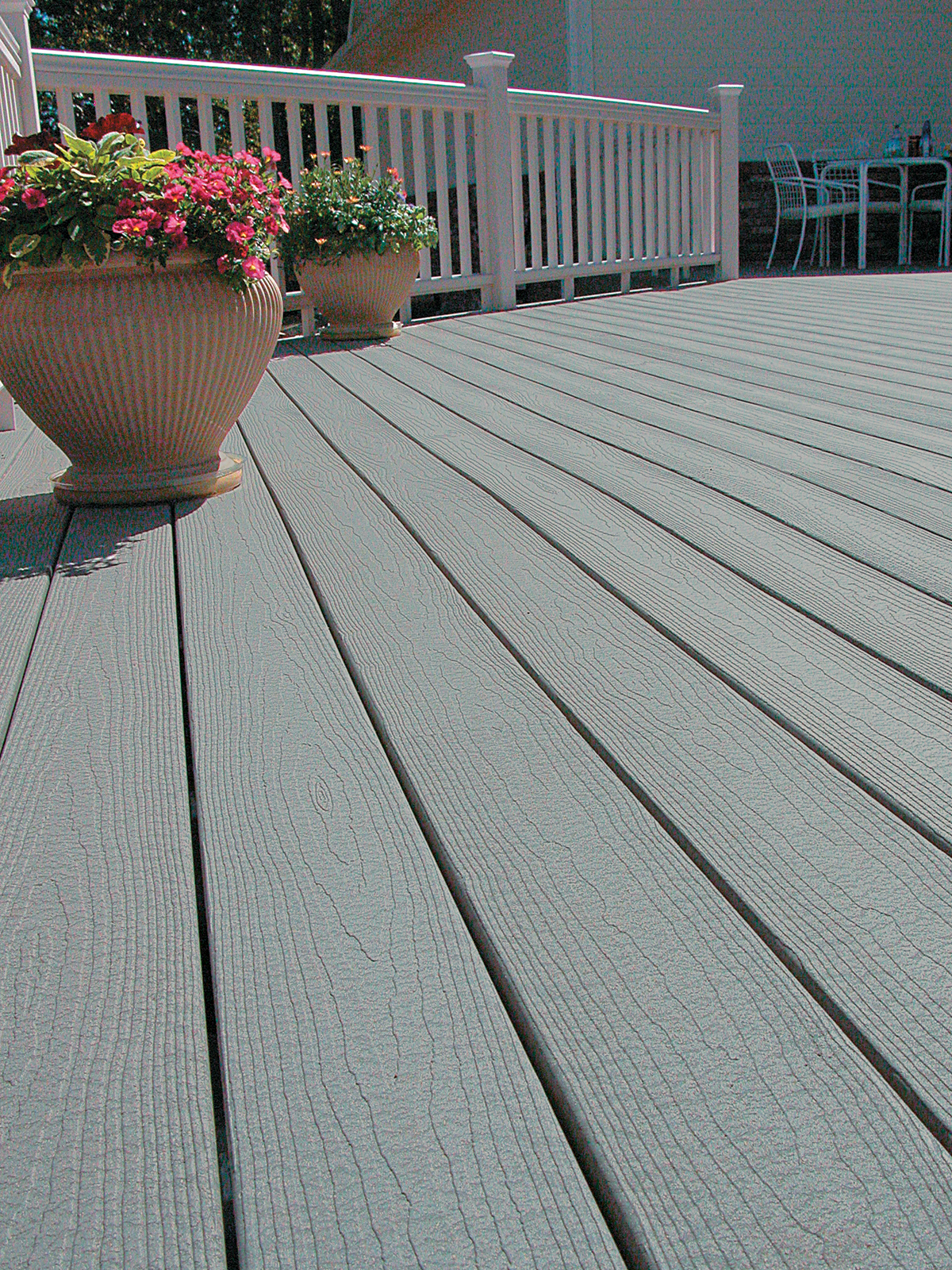 Tamko decking east side lumberyard supply co inc for Grey composite decking