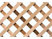 lattice garden diagonal cedar