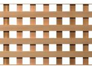 lattice privacy square cedar