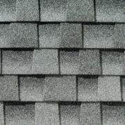 Close up photo of GAF's Timberline HD Birchwood shingle swatch